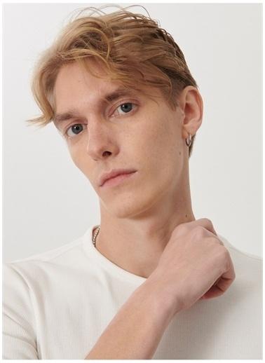 Lee Lee L211816100_Basic T-shirt  Beyaz